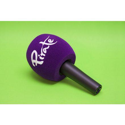 Egyedi gyártású, logózott mikrofonszivacs